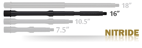 "Barrel Carbine 16"" Nitride"