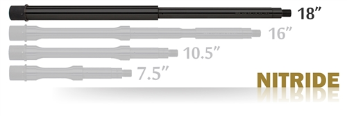 "Barrel Rifle 18"" Nitride"