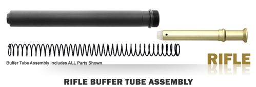 Buffer Tube Assembly - Rifle - Black