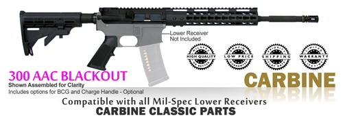Carbine Classic Kit 80% - 300 AAC Blackout