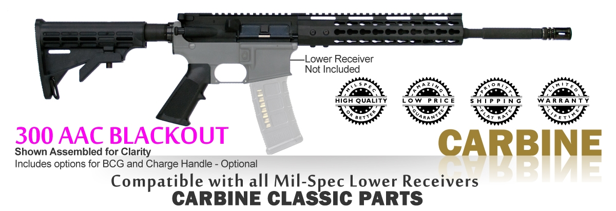 Carbine Classic Kit 80% - 300 AAC BLKOUT