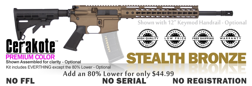 Carbine Classic Kit 80% - Stealth Bronze