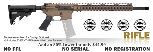 Rifle Classic Kit 80% - Stealth Bronze