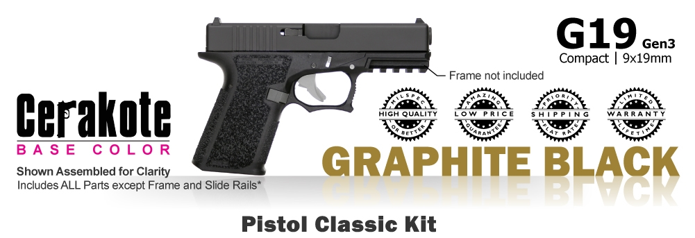 G19 Kit 80% - Compact - Graphite Black