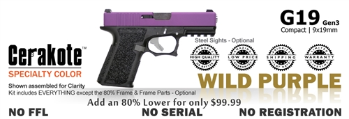 G19 Kit 80% - Compact - Wild Purple
