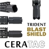 Blast Shield - Trident, Black