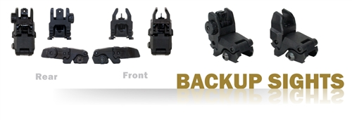Sight Set - Backup, Black