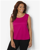 Plus Size AirLight Sport Tank - Crayon Pink