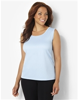 Plus Size AirLight Sport Tank - Powder Blue