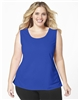 Plus Size AirLight Sport Tank - Royal