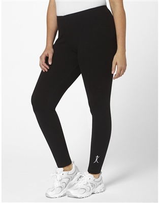 Plus Size Leggings - Black