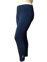 Plus Size Leggings - Navy