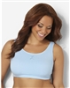 Plus Size Sports Bra - Powder Blue