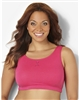 Plus Size Sports Bra - Crayon Pink