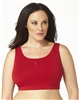 Plus Size Sports Bra - Red with ABA Logo