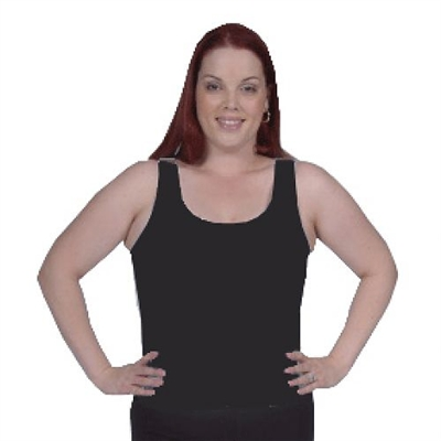 Plus Size Cami Bra - Black