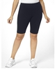Plus Size Bike Shorts - Navy