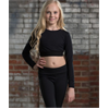 Soffe | Girls Grace Long Sleeve Crop Top | 10136-SOF-1231G