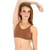 Capezio | Seamless Clear Back Bra | 10580-CAP-3683