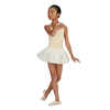 Capezio | Camisole Leotard w/ Clear Transition Straps - Girls Nude | 10589-CAP-3532C