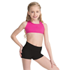 Capezio | Fold-Over Boyshort - Girls Pyrite | 10676-CAP-TB242C