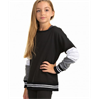 Soffe | Girls Colorblock Crew | 10908-SOF-7429G