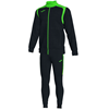 Joma | CHAMPION V TRACKSUIT BLACK-FLUORESCENT GREEN | 10959-JOM-101267.117