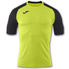 Joma | SHORT SLEEVE T-SHIRT BRAMA EMOTION II LIME GREEN-BLACK | 11061-JOM-100652.401