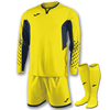 Joma | L/S SET GOALKEEPER ZAMORA III YELLOW FLUORESCENT | 11066-JOM-100695.063
