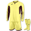 Joma | L/S GOALKEEPER STRIP ZAMORA III YELLOW | 11151-JOM-100695.922