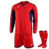 Joma | L/S GOALKEEPER STRIP ZAMORA III RED | 11152-JOM-100695.803