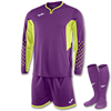 Joma | L/S GOALKEEPER STRIP ZAMORA III PURPLE | 11153-JOM-100695.554