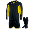 Joma | L/S GOALKEEPER STRIP ZAMORA III BLACK-YELLOW | 11154-JOM-100695.109