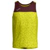 Joma | SLEEVELESS T-SHIRT OLIMPIA FLASH GREEN-BURGUNDY | 11828-JOM-100669.400