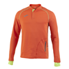 Joma | SWEATSHIRT WITH BUTTONS OLIMPIA FLASH ORANGE | 11898-JOM-100670.800