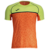 Joma | OLIMPIA FLASHSHORT SLEEVE T-SHIRT ORANGE-YELLOW | 11945-JOM-100668.800