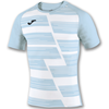 Joma | SHORT SLEEVE T-SHIRT HAKA SKY BLUE-WHITE | 12184-JOM-100960.352
