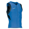 Joma | T-SHIRT DUATHLON ROYAL-BLACK SLEEVELESS | 12364-JOM-100048.701
