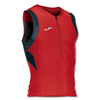 Joma | T-SHIRT DUATHLON RED-BLACK SLEEVELESS | 12365-JOM-100048.601