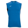 Joma | T-SHIRT SKIN ROYAL-BLACK SLEEVELESS | 12368-JOM-100044.700