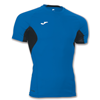 Joma | T-SHIRT SKIN ROYAL-BLACK SHORT SLEEVE | 12370-JOM-100043.700