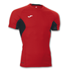 Joma | T-SHIRT SKIN RED-BLACK SHORT SLEEVE | 12371-JOM-100043.600