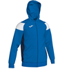 Joma | POLY CREW III HOODED JACKET ROYAL-WHITE-NAVY | 12559-JOM-101271.702