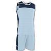 Joma | SLEEVELESS STRIP SPACE II SKY BLUE-NAVY BLUE | 12835-JOM-100692.353