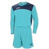 Joma | GOALKEEPER SET AREA IV TURQ-NAVY T-SHIRT+SHORT | 12839-JOM-100008.010
