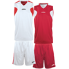 Joma | BASKETBALL REVERSIBLE SET WHITE-RED | 12856-JOM-1184.003