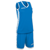 Joma | SET PIVOT WOMAN BLUE JERSEY+SHORTS | 13041-JOM-1227W002