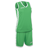 Joma | SET PIVOT WOMAN GREEN JERSEY+SHORTS | 13042-JOM-1227W004