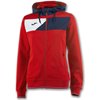 Joma | HOODED JACKET CREW II RED-NAVY BLUE WOMEN | 13398-JOM-900386.603