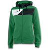 Joma | HOODED JACKET CREW II GREEN WOMEN | 13400-JOM-900386.451